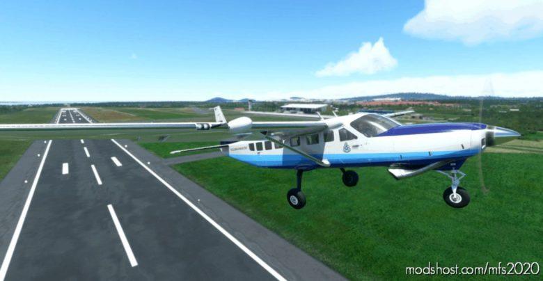 Cessna 208B (NO POD) 9M-Pso Pdrm for Microsoft Flight Simulator 2020