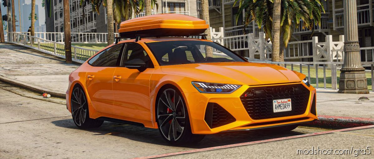 2020 Audi RS7 Sportback (C8) for Grand Theft Auto V