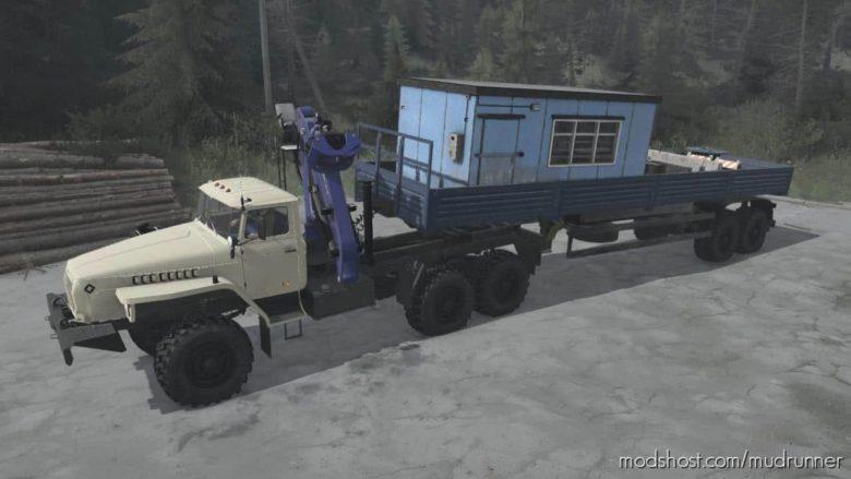 Ural-4320 Truck V20.06.21 for MudRunner