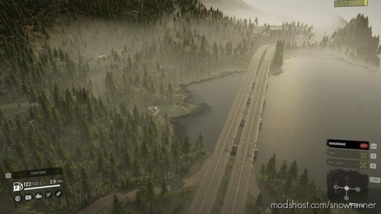 Highway Haulin The Region V2.0 for SnowRunner