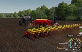 Vaderstad Tempo L16/Fertilizer OR Seed Tank 5000L for Farming Simulator 19