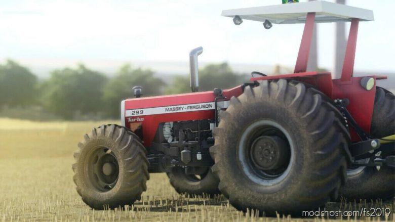 Massey Ferguson 296 – 299 for Farming Simulator 19