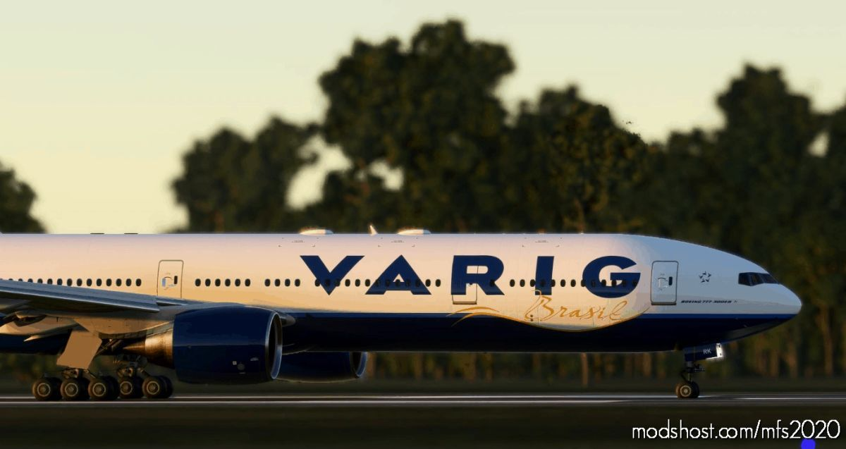 Cs-777-300Er Varig Pp-Vrk Fictional Ultra V1.1 for Microsoft Flight Simulator 2020