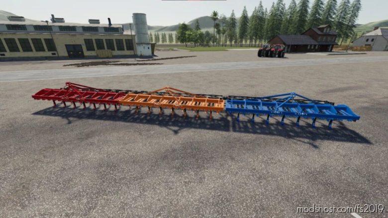 Lizard KUT 15 Cultivator for Farming Simulator 19