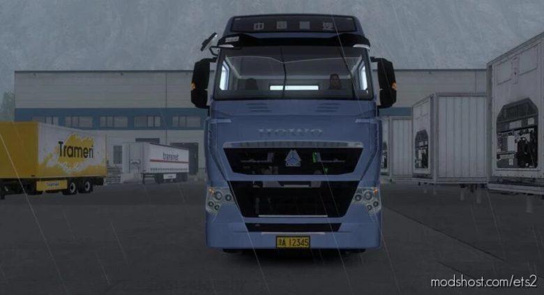 Howo T7H [1.40 – 1.41] for Euro Truck Simulator 2