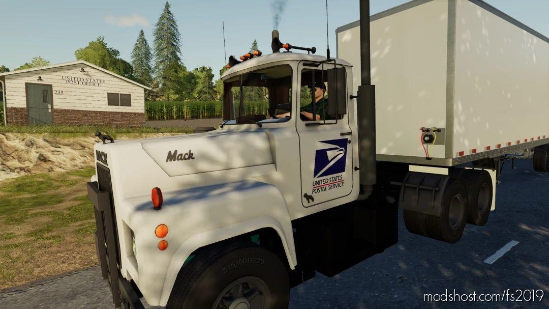 US Postal Service Mack R688 for Farming Simulator 19