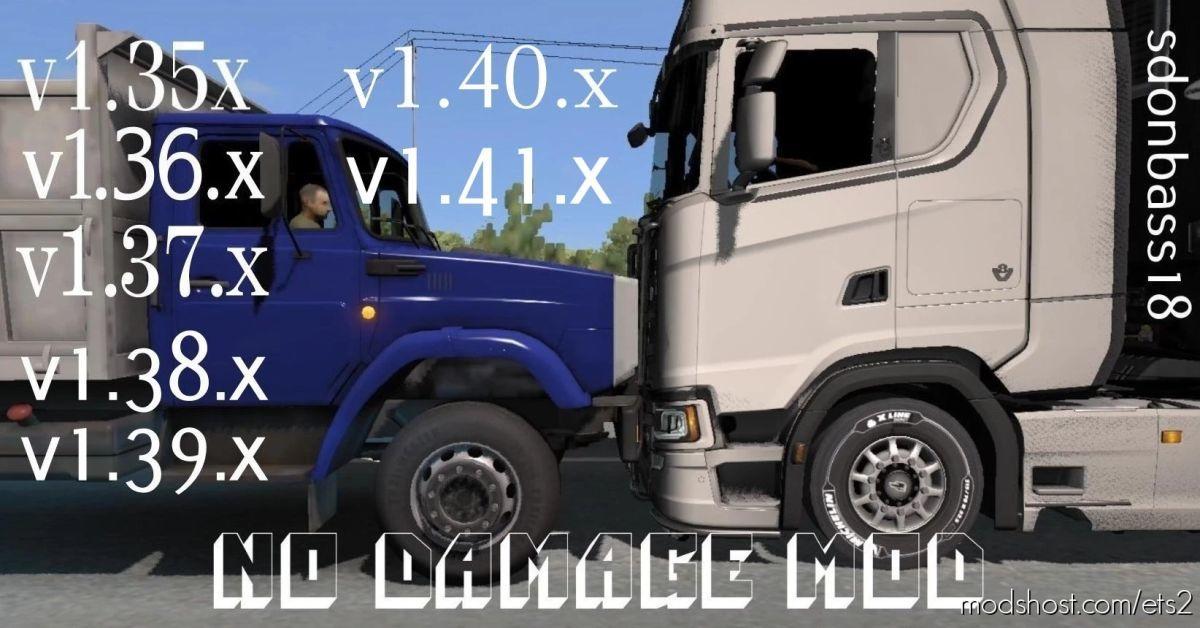 NO Damage V5.1 for Euro Truck Simulator 2