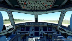 [A32NX] Clean Glareshield & Darker FCU for Microsoft Flight Simulator 2020