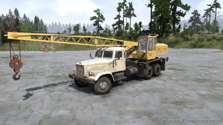 Kraz 257 Original Pack V1.2 for MudRunner