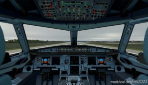 [A32NX] Cockpit Blue Version for Microsoft Flight Simulator 2020