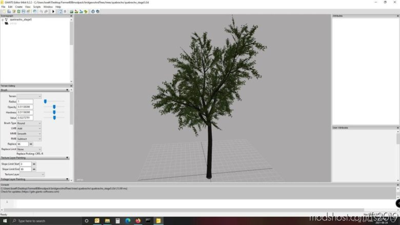 Farmerb0B's Bridge And Tree Pack For Giants Editor 8 for Farming Simulator 19