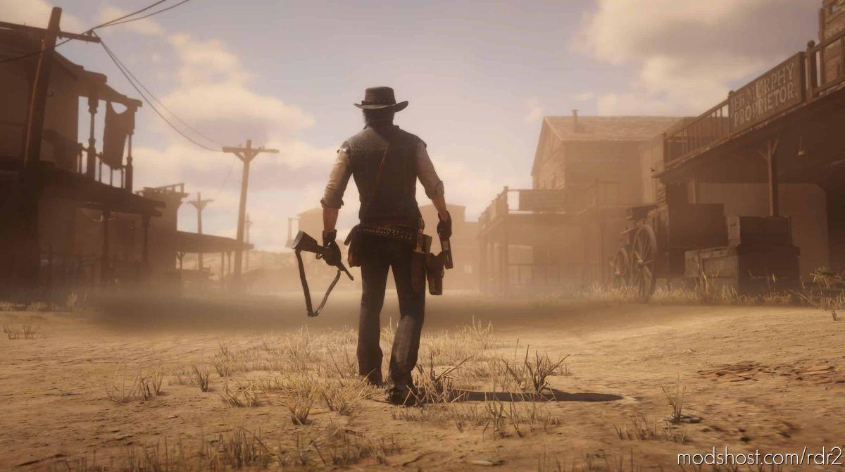 John Marston Animation Restoration for Red Dead Redemption 2