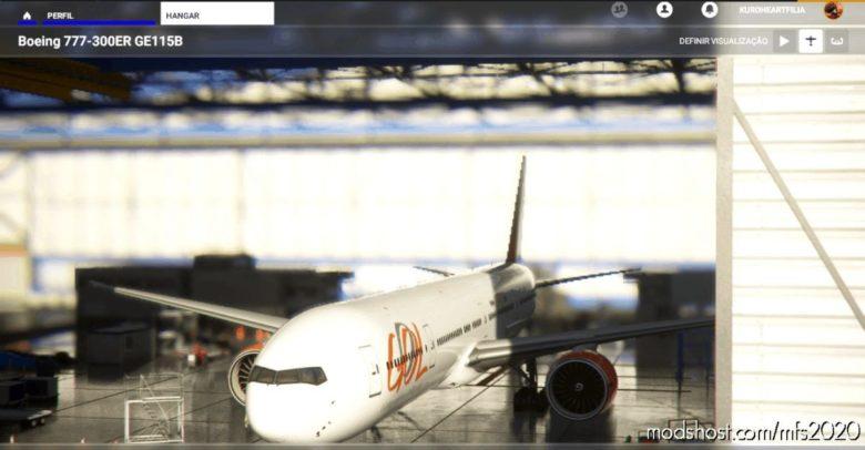 Gol-777-Retro for Microsoft Flight Simulator 2020