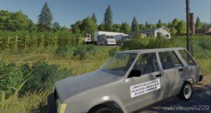 86 Toyota Usps Rural Carrier for Farming Simulator 19