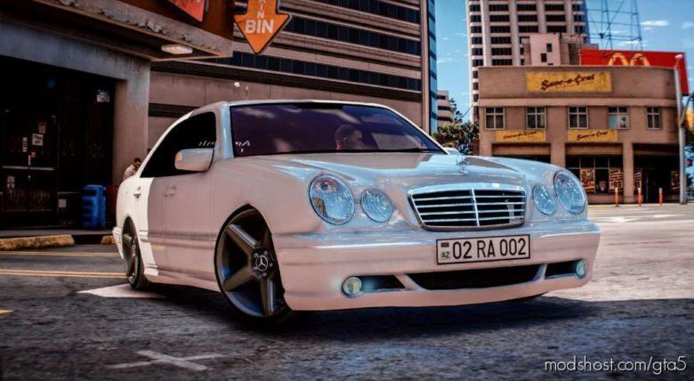 Mercedes-Benz E Class W210 for Grand Theft Auto V