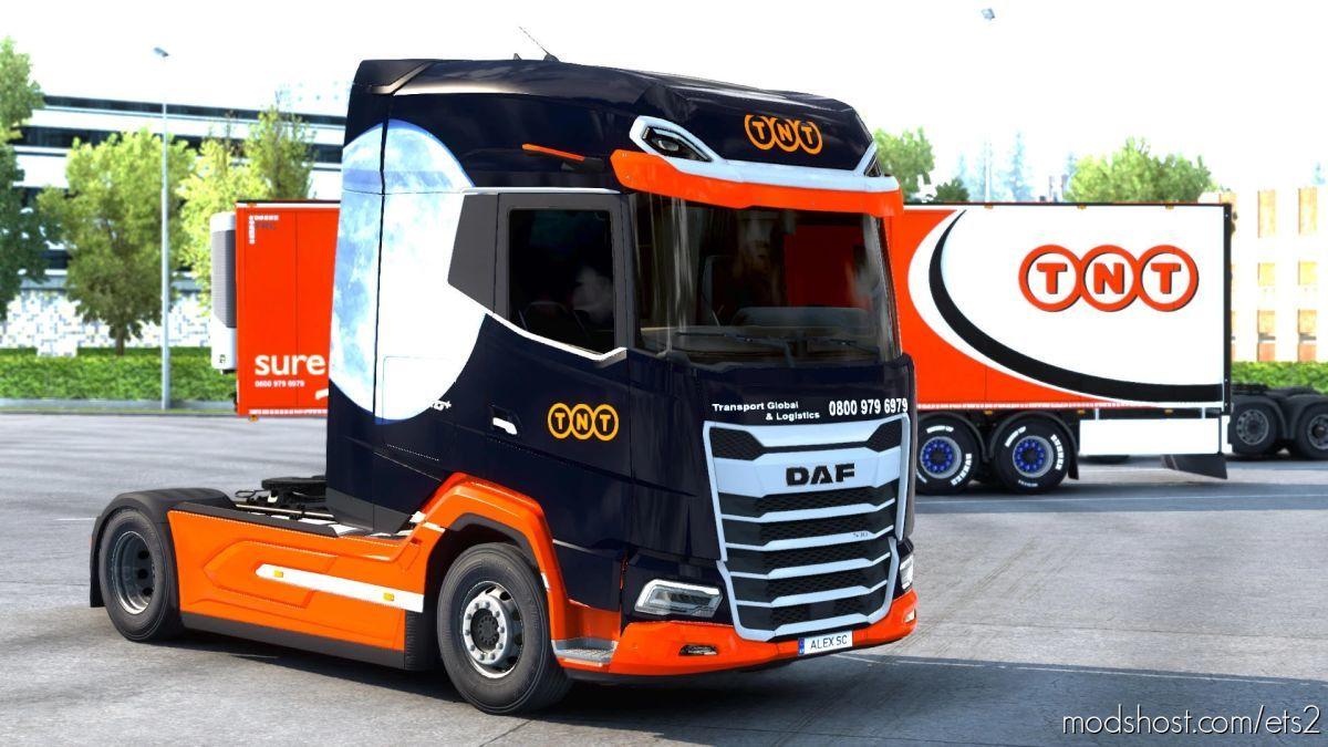 DAF21 XG Skin Pack TNT Express for Euro Truck Simulator 2