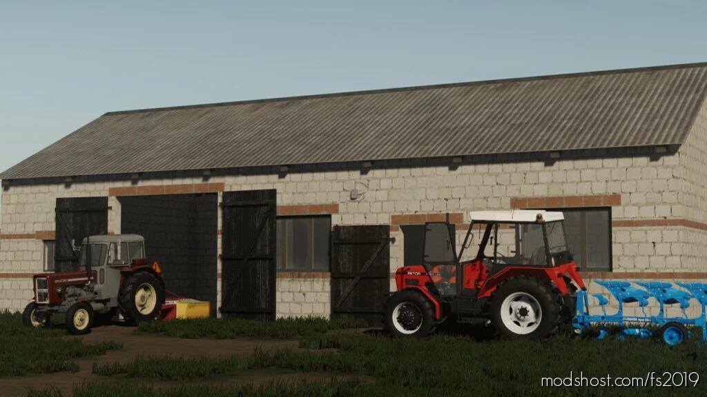 Small Barn V1.1 for Farming Simulator 19