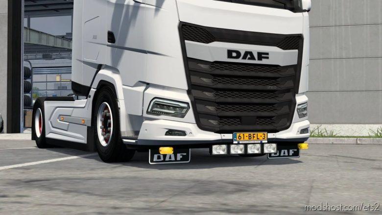 Bumper Aero Slots For DAF XG [1.40 – 1.41.X] for Euro Truck Simulator 2