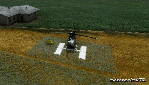 La61-Kenan Airstrip Airport Helipad Grass V.5 for Microsoft Flight Simulator 2020