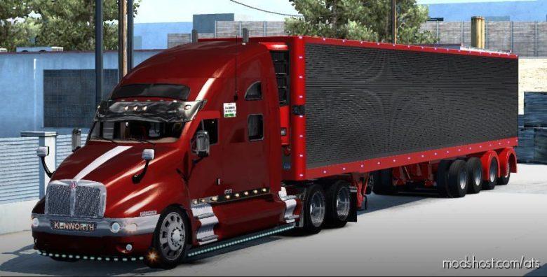 NEW Kenworth T2000 Edition Edited Model Truck for American Truck Simulator