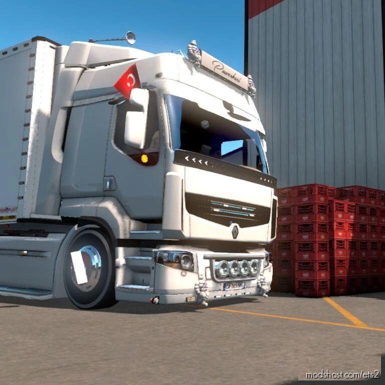 Renault Premi̇um By Mehmet Kaya V1.1 for Euro Truck Simulator 2