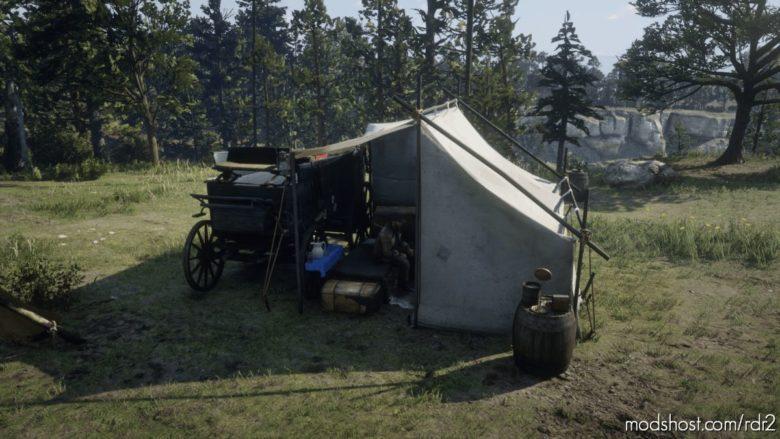 Alternate Tent For Arthur (Horseshoe Overlook) for Red Dead Redemption 2