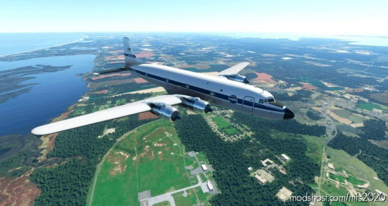 Pmdg DC-6A Nasa – N428NA 1972 for Microsoft Flight Simulator 2020