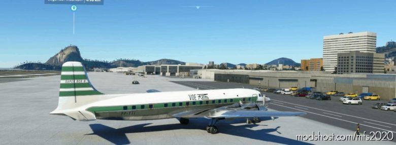 Pmdg DC-6B   Brazilian Airline   Real Aerovias Brasil for Microsoft Flight Simulator 2020