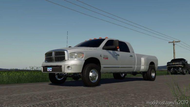 Dodge RAM 3500 for Farming Simulator 19