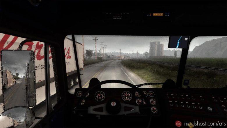 Realistic Rain V4.0 [1.40 – 1.41] for American Truck Simulator