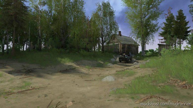 Summer Forest Map for MudRunner