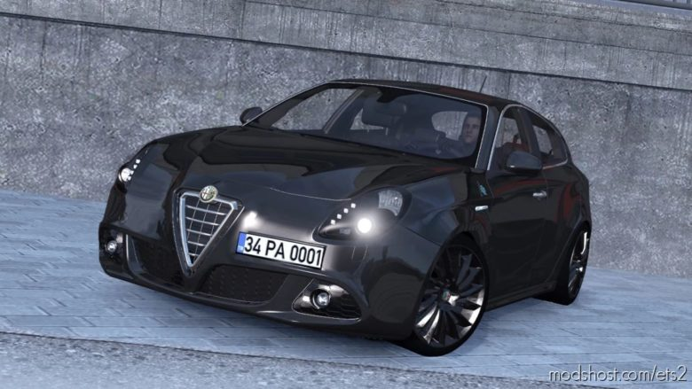 Alfa Romeo Giulietta V1R70 [1.41.X] for Euro Truck Simulator 2