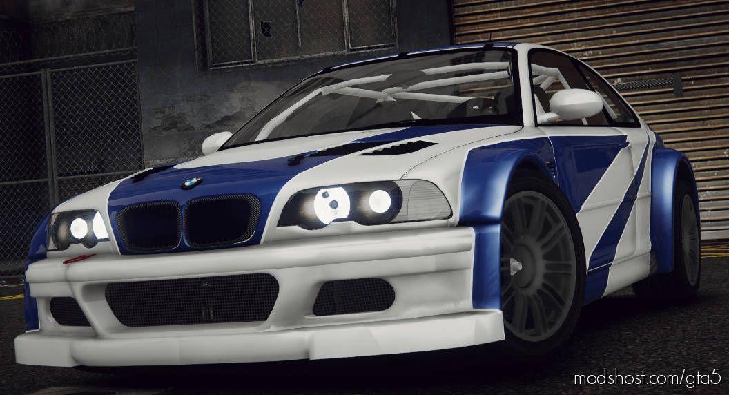 """BMW M3 GTR (E46) """"Razor"""" V2.2 for Grand Theft Auto V"""