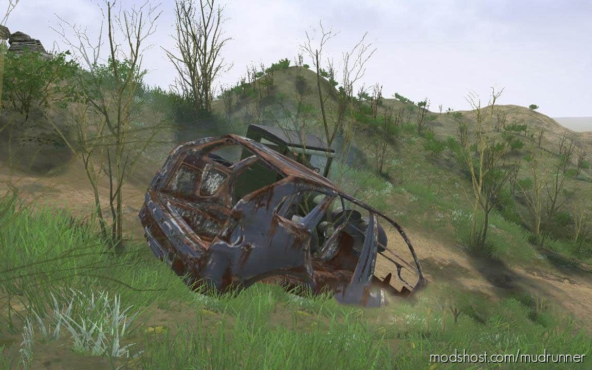 Broken BMW Editor for MudRunner