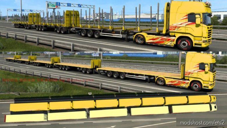 Mega Road Trains By Sasha3261 for Euro Truck Simulator 2