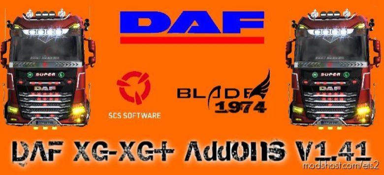 DAF Xg/Xg+ Addons [1.41.X] for Euro Truck Simulator 2