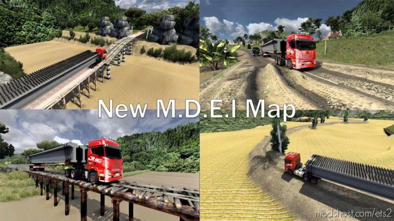 NEW M.d.e.i Map Save Game Profile [1.30 – 1.40] for Euro Truck Simulator 2
