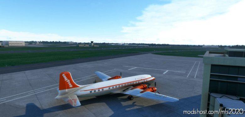 Pmdg DC-6B Easyprop (Easyjet) V2 for Microsoft Flight Simulator 2020