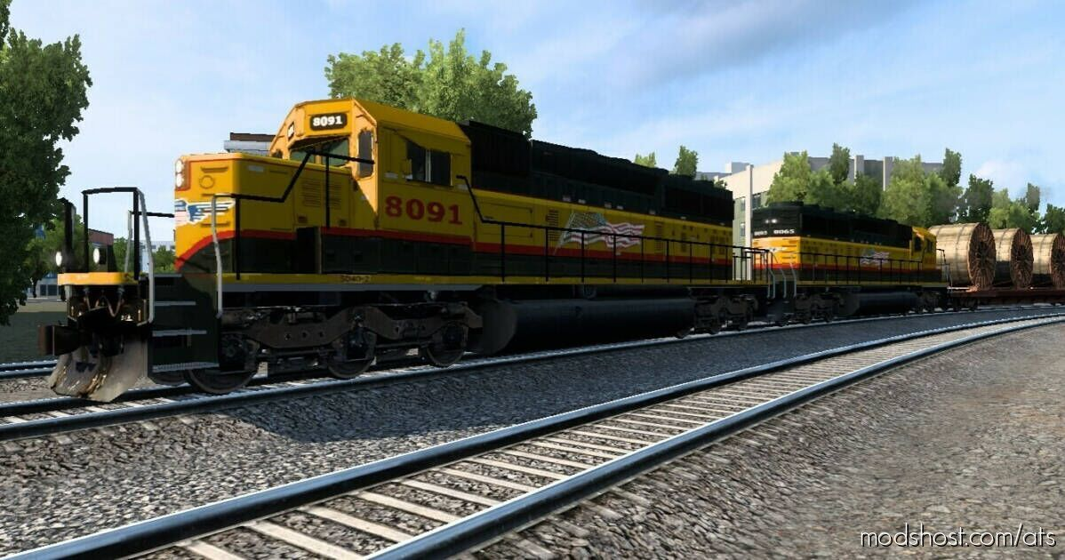 Improved Trains Mod V3.8.Beta2 [1.41] Public Beta for American Truck Simulator