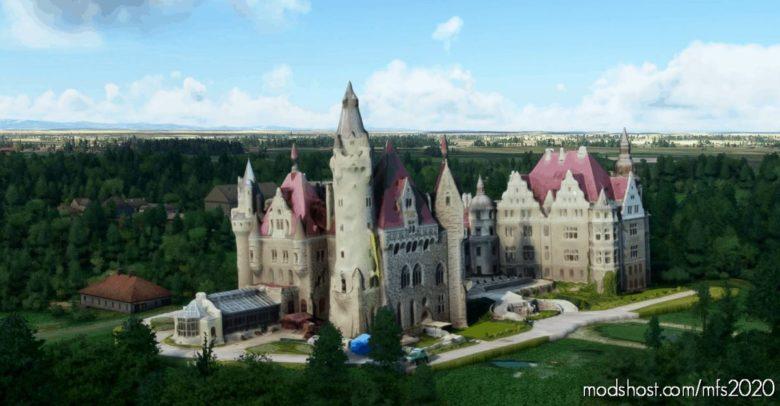 Poland Moszna Castle for Microsoft Flight Simulator 2020