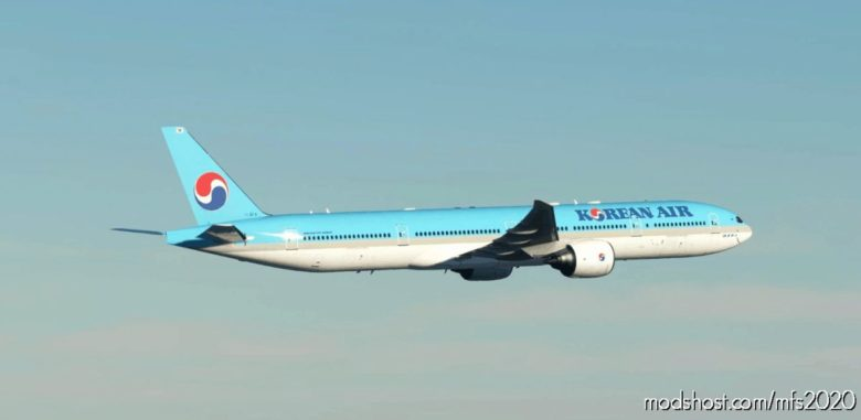 Korean AIR Captainsim 777-300ER 8K for Microsoft Flight Simulator 2020