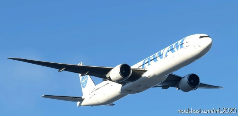 PAN AM Captainsim 777-300ER 8K for Microsoft Flight Simulator 2020