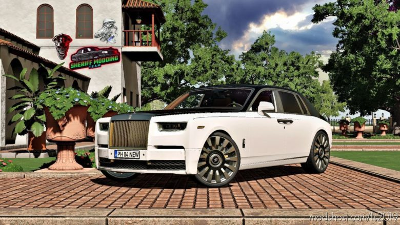 Rolls-Royce Phantom 2018 for Farming Simulator 19