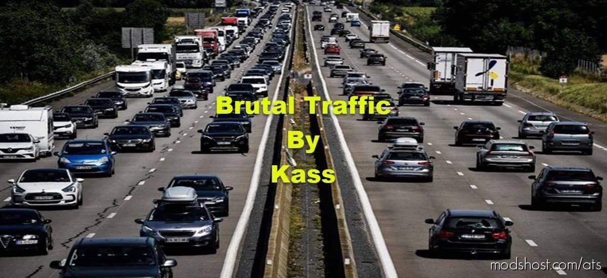 Brutal Traffic – V1.4 for American Truck Simulator