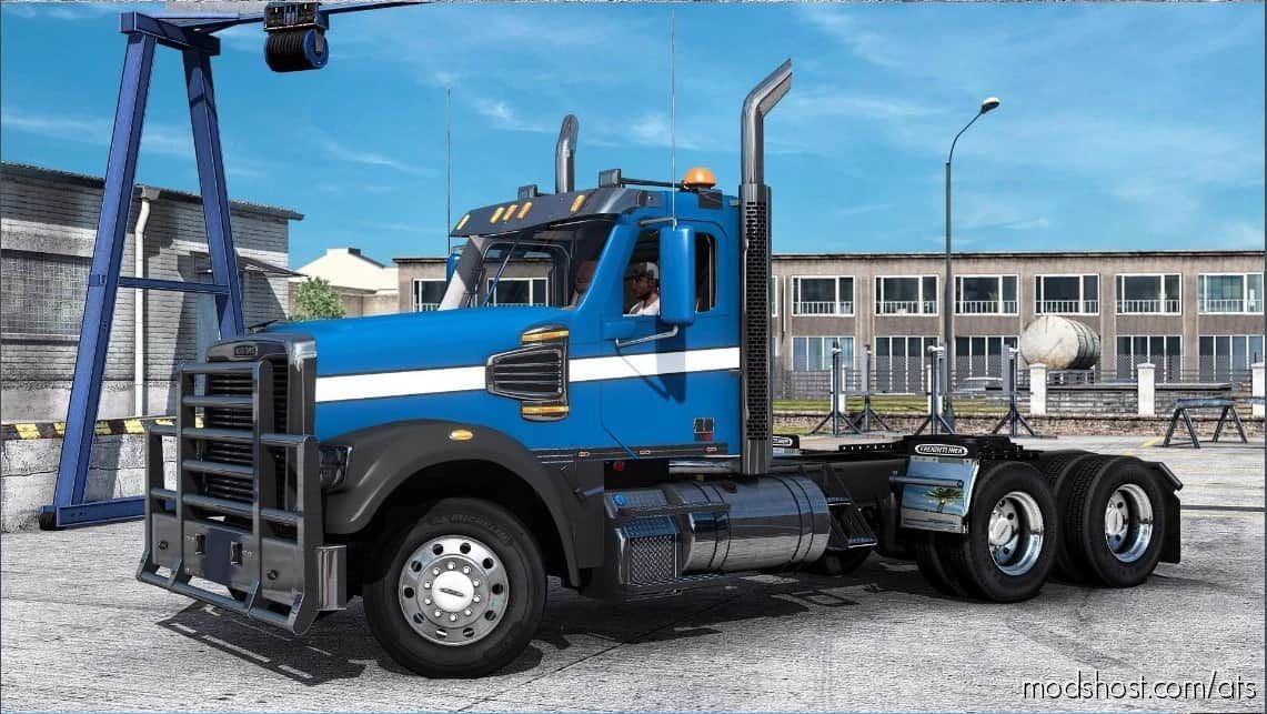 Freightliner Coronado 132Sd/122Sd [1.40 – 1.41] for American Truck Simulator