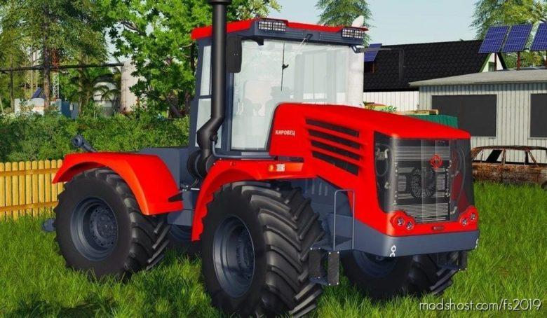 Kirovec K744 R4 Premium for Farming Simulator 19