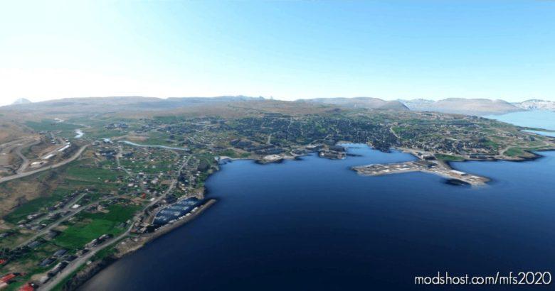 Iskort.is – Faroe Island – 10M DEM for Microsoft Flight Simulator 2020