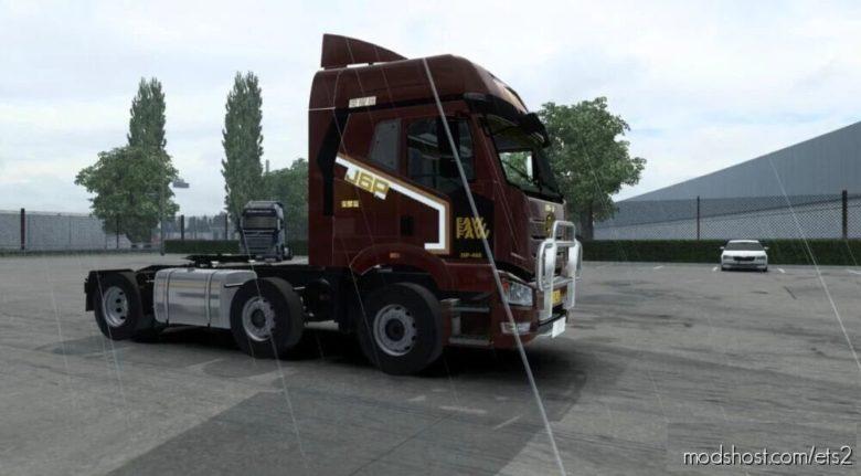 FAW J6P Glory Kumiko Update [1.40 – 1.41] for Euro Truck Simulator 2