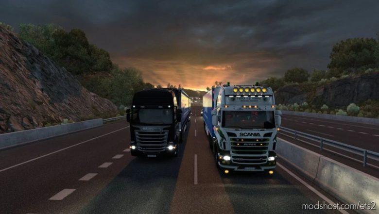 Realistic Brutal Weather Unforgiving V6.6 [1.40] for Euro Truck Simulator 2
