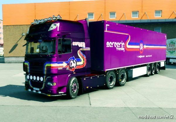 DAF XF 105 Tunning By Marcarin for Euro Truck Simulator 2